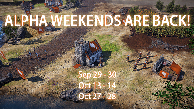 Bannermen Alpha Weekends Are Back!