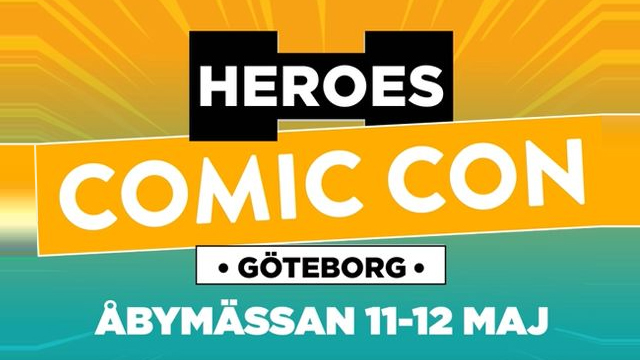 Pathos is coming to Comic Con, Gothernburg!
